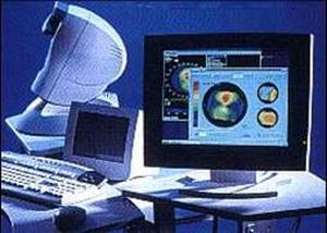 Комппьютерный комплекс для лазерной коррекции зрения