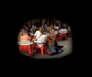 ГЛАУКОМА - трубчатое зрение в результате частичной атрофии зрительного нерва