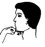 Нажать на подбородок рукой и с усилием перемещать нижнюю челюсть вперед-назад. Выполнять по 30 раз утром и вечером.